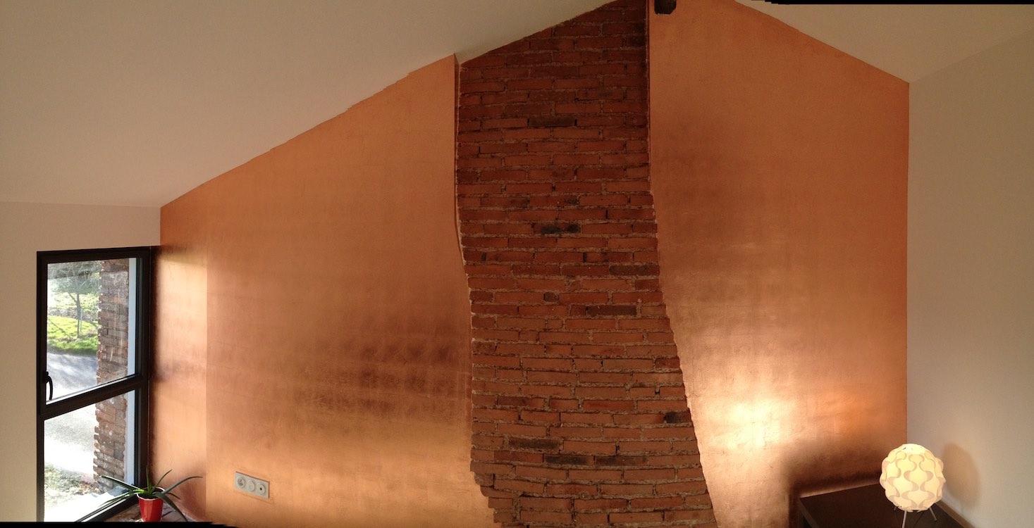 Dorure à la feuille de cuivre maison campagne  Studio Julien Gautier -> Diffuseur Cuivre De La Medina