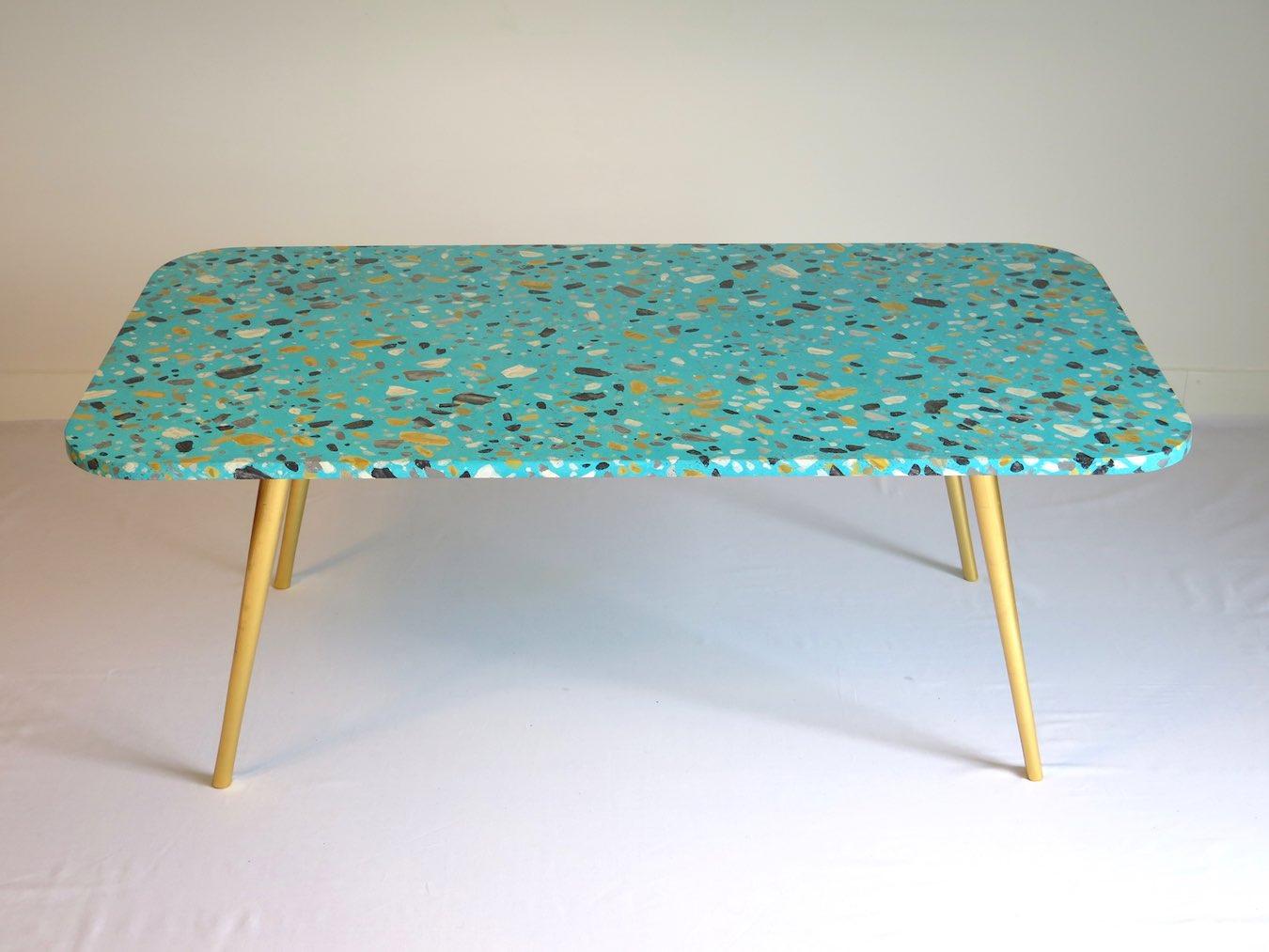 imitation terrazzo studio julien gautier. Black Bedroom Furniture Sets. Home Design Ideas