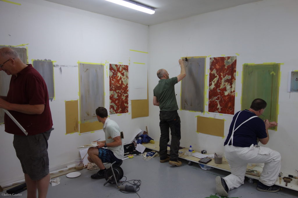 Decorative painting course in UK