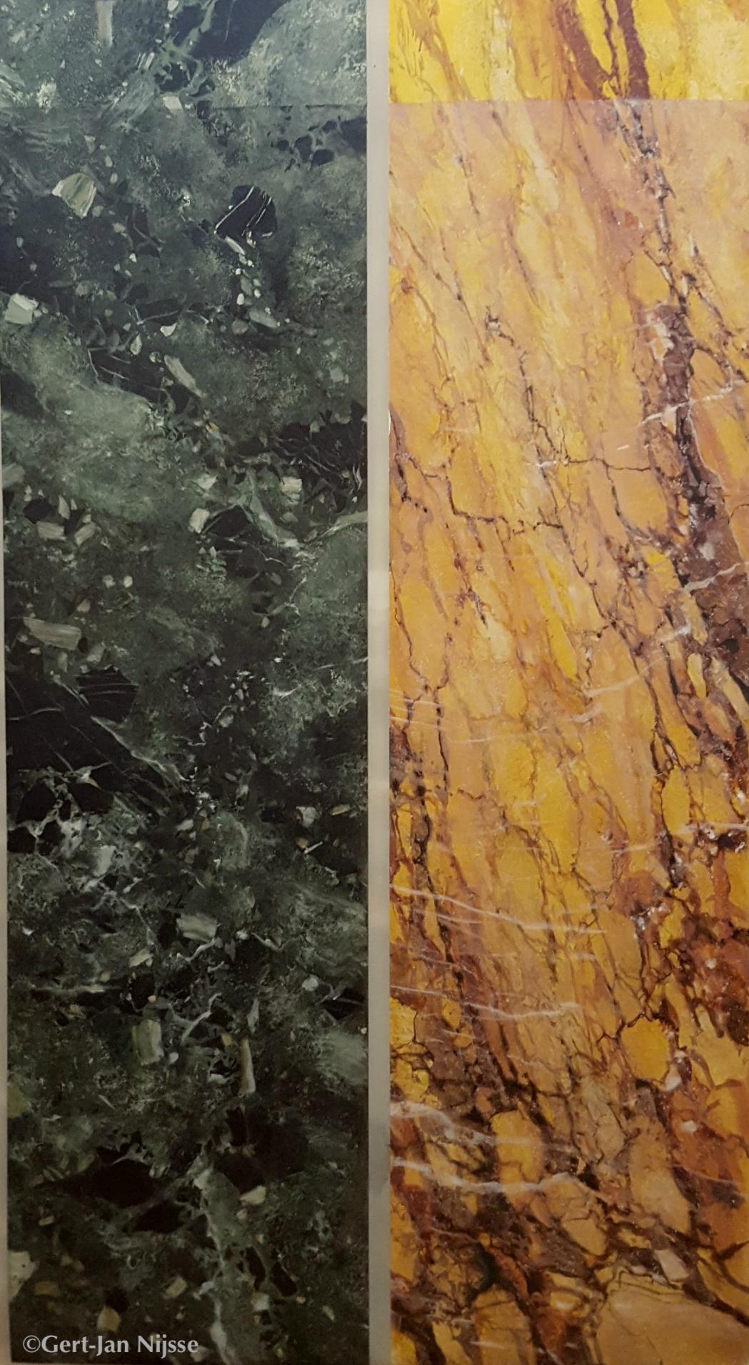 Marbre Vert Antique et jaune de Sienne, Gert Jan Nijsse