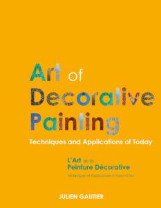 Couverture L'Art de la Peinture Décorative  ©Julien Gautier